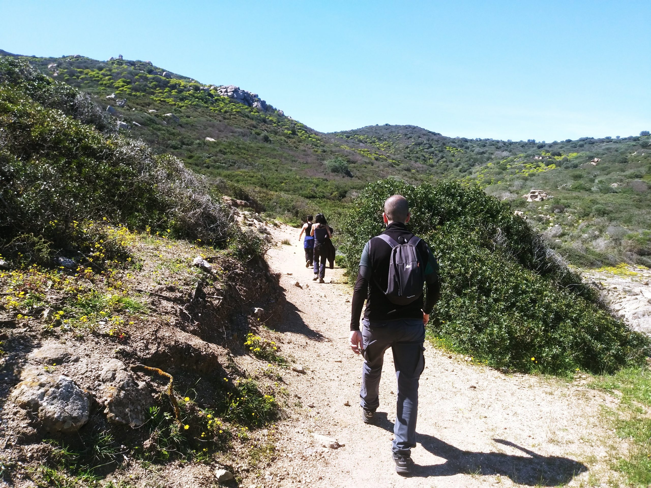 hiking in south east of sardinia