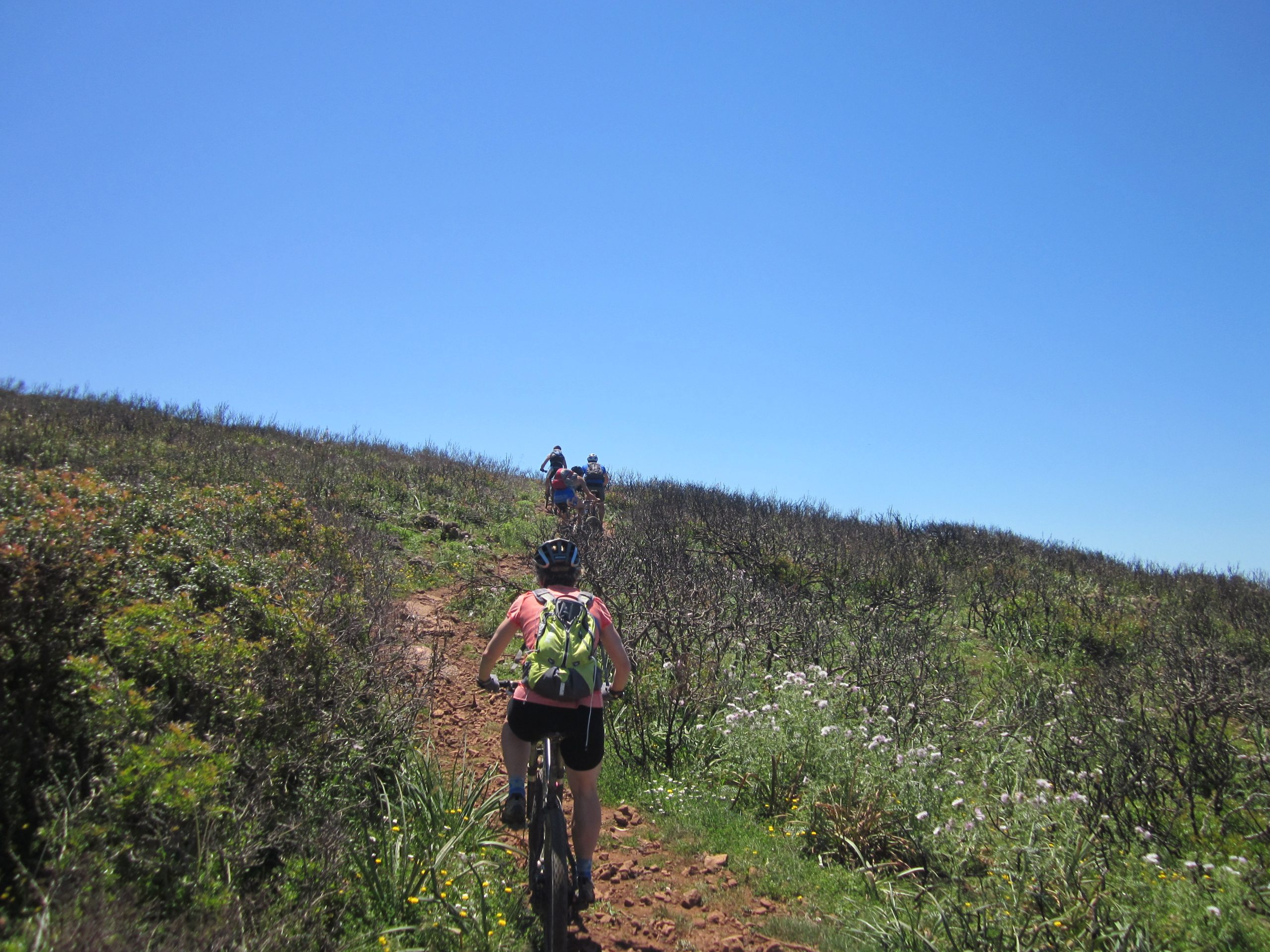 south west of Sardinia in mtb